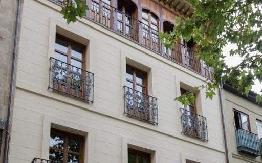 Vista exterior de los apartamentos